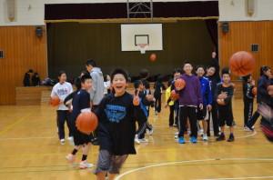 チビッコバスケットボール教室