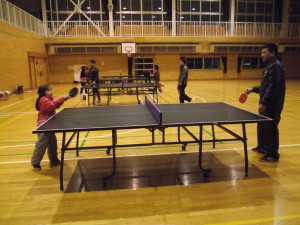 卓球を楽しむ会
