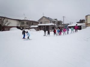 小学校スキー