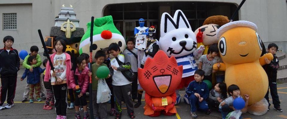 ゆるキャラ運動会in弘前大学スポーツフェスティバル